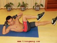 女人打造性感腹肌的训练方法