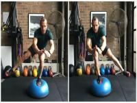 6大bosu球减脂训练动作,练它就够了