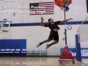 排球扣球动作技术分析